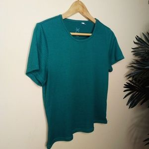 PacSun | Ribbed Green Crop Top Sz L